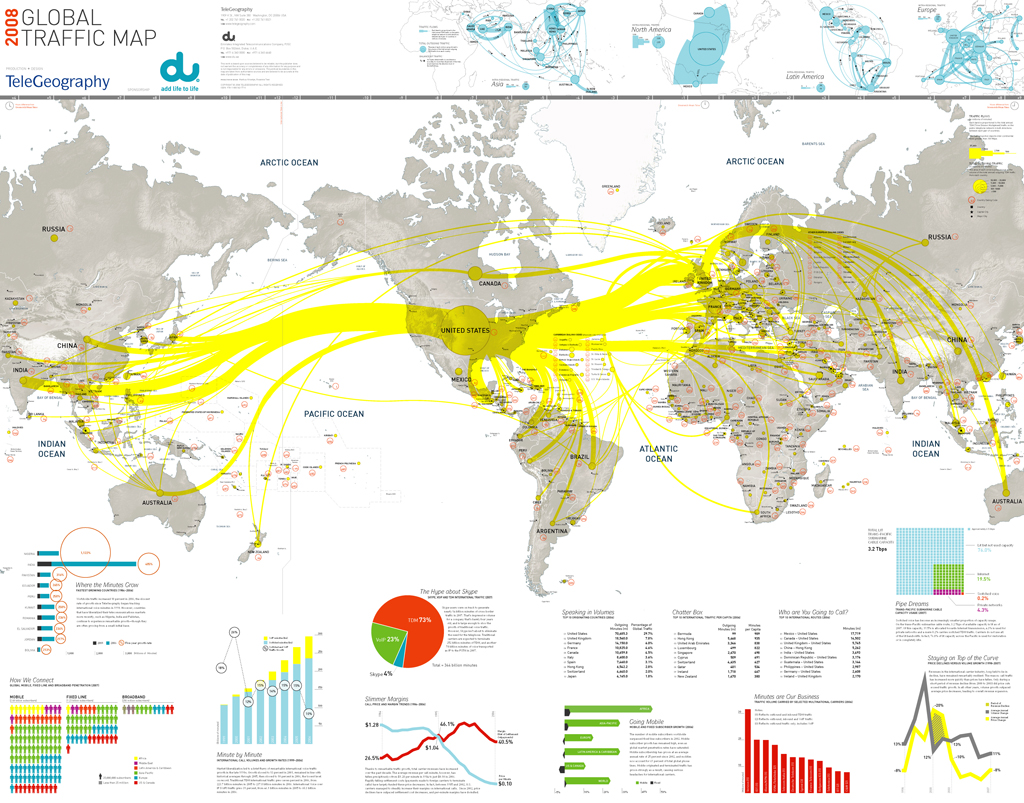 Map Of The Day The Global Traffic Map Shoe Untied