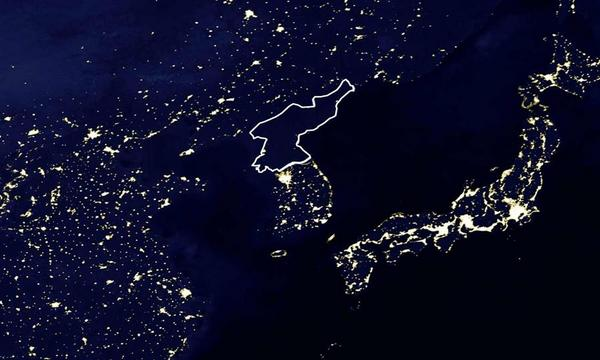 Map of the day north korea at night shoe untied gumiabroncs Gallery