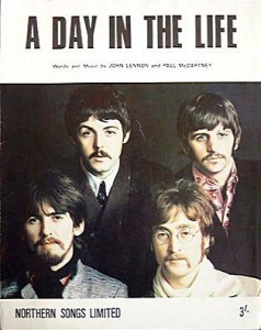 day in the life sheet music