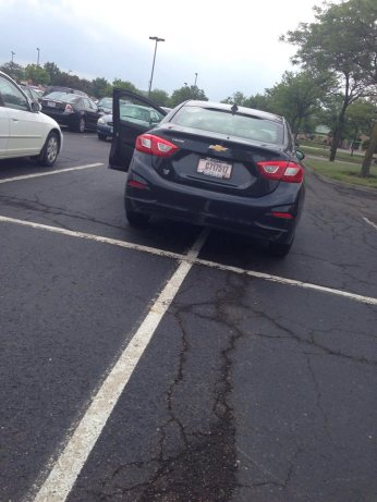 From Hilliard, Ohio, here's your 119th Asshat of the Day! Look, we almost got the actual asshat too! That's bonus points man! Thanks to Asshat Patrol member Cheyanne Sue Lightfoot for today's asshat!
