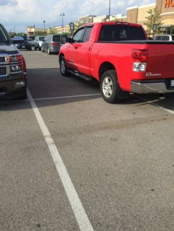 "Hobby Lobby in Grove City, Ohio, here's your 125th Asshat of the Day! This is your regular ""I'll take 4-spots"" asshat! Total asshattishness! Thanks to Asshat Patrol member Adam Stauffer for today's asshat!"