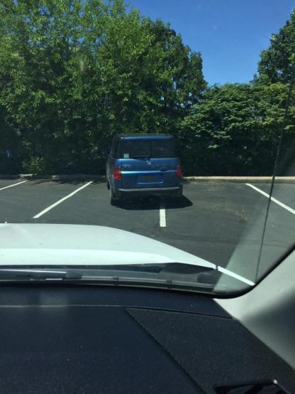 From Ashland, Ohio, here's your 160th Asshat of the Day! Plenty of room asshat, stay between the lines! Thanks to Asshat Patrol member Travis Burton for today's asshat!