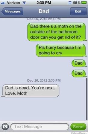 text moth