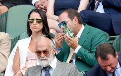 Celebrities Attend Wimbledon