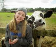 Cow Photobomb!