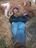 More cuddling.