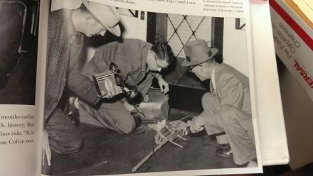 My Grandfather Defusing A Bomb On Martin Luther King's Porch