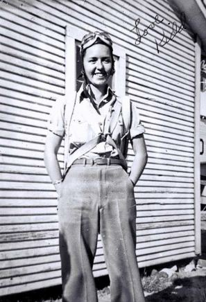 My Granny (Nicknamed Kidd) Wasn't Allowed To Join The Air Force Because She Was A Woman. So She Taught Young Men To Fly In Stephenville, Texas During WW2
