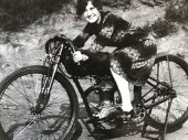 y Grandmother On Her Harley In 1926