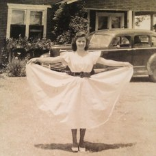 My Favorite Picture Of My Grandmother, 1942. She's Strong, Raised Six Children On Her Own After Leaving An Alcoholic Husband. Worked 7 Days A Week As A Cook In A Gas Station From 3 Am - 5 Pm. I Would Stay Every Weekend With Her And Sleep On The Floor Of The Gas Station Back Then.