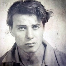 My Grandfather The Day Before He Shipped Out With The Marines, 1941