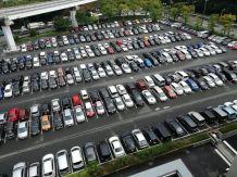 In Japan most people reverse park.
