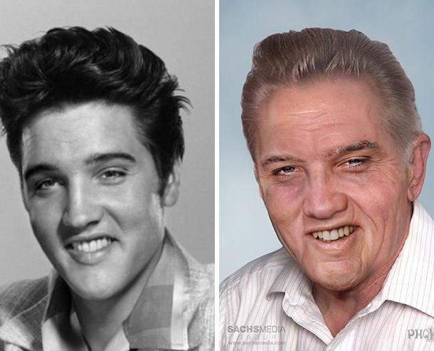 Elvis Presley of course. He died of a drug overdose in 1977. He'd be 83 had he lived.