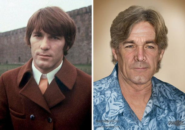 Beach Boys drummer Dennis Wilson, who drowned in 1983. He'd be 74.