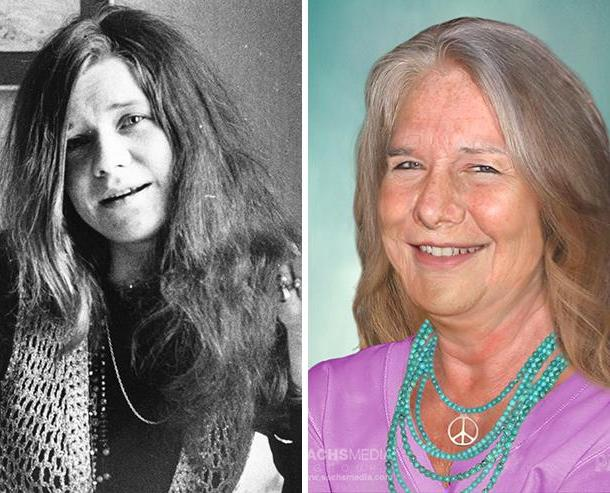 Janis Joplin. She died from an overdose in 1970. She'd be 75.