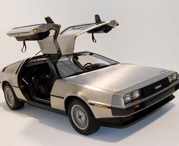 The famous DeLorean, which looked cool as hell but broke down every other day.