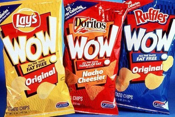 These contained Olestra, which gave you a serious case of the runs. Good times.