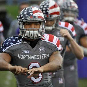 Northwestern (vs. Michigan, Nov. 16)