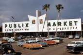 Check out the 1961 architecture, man. And those cars . . .