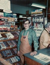 Isn't it sort of comforting to know that Snickers packaging hasn't changed since at least 1972?