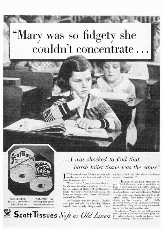 So THAT'S why kids were so damn fidgety.