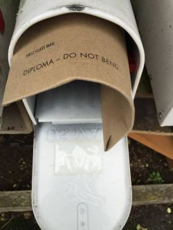 Brutal move, mailman. You're better than that.
