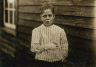 Giles Newsome, 11-year old Mill Worker.