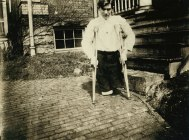 14-year olf Frank Patrick. His legs were cut off by a coal mine motor car in Monongah, West Virginia.