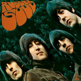 Ah, a classic. Rubber Soul. The title was a play on words. Rubber Sole, get it? It was the band's first album to not have their name on the cover, unheard of in 1965. Trippy vibe, man.