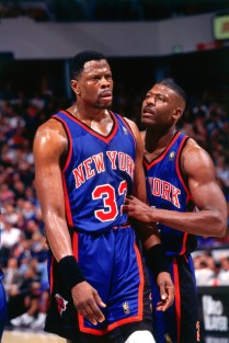Patrick Ewing & Larry Johnson, mid-90s.