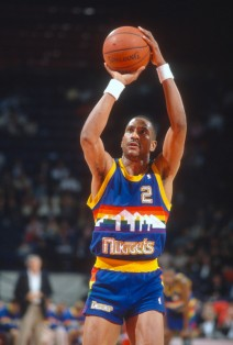 Alex English, early 80s.