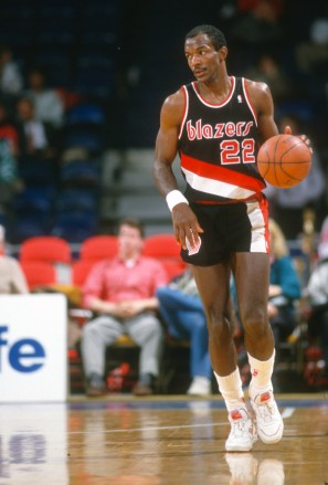 Clyde Drexler, late 80s.