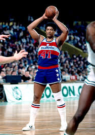 Wes Unseld, mid 70s.