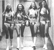 Miami Floridians Ball Girls