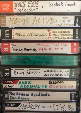 That Laurie Anderson album was badass.