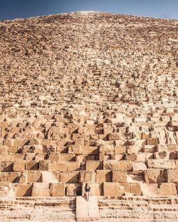 Great Pyramid of Giza. Way big.