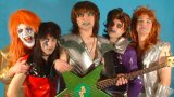 This band is a cross between KISS, David Bowie, Boy George and a Mime Troupe.