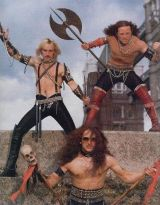 You probably think this is a pop band, but they're actually heavy metal. Shocking I know.