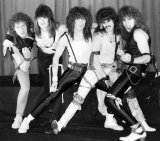 I don't know the name of this band, so I shall call them VanSisterSkid. 80s people will get it.