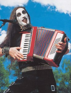 Although Marilyn Manson's younger brother Felicia was a competent accordionist, he never rose to the success of his brother.
