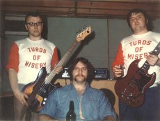 Oddly, I believe Turds of Misery is the only possible name for this band.